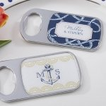 Nautical Themed Personalized Bottle Openers