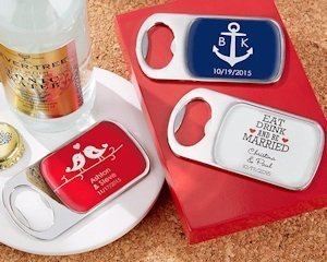 Personalized Bottle Opener Party Favors image