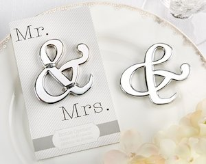 Mr. & Mrs. Ampersand Bottle Opener image