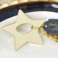 Gold Star Bottle Opener Favor