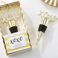 XOXO Gold Bottle Stoppers