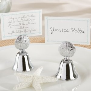 Beach Bliss Kissing Bell Place Card Holder (Set of 24) image