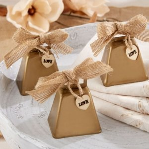 Country Charm Cowbell Kissing Bell (Set of 6) image