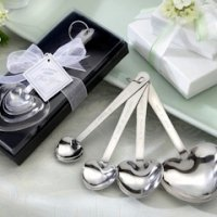 'Love Beyond Measure' Heart Measuring Spoons