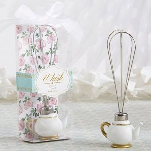 Tea Time Whimsy Teapot Whisk Favors image