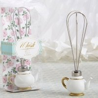 Tea Time Whimsy Teapot Whisk Favors