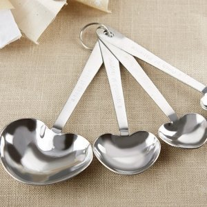 Rustic Heart Measuring Spoon Favors image