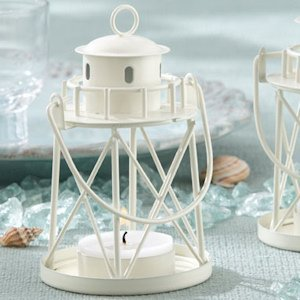 Lighthouse Tea Light Candle Holders image