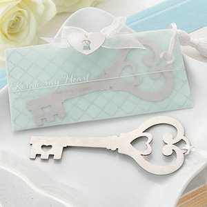 Key to My Heart Bookmark with Silk Tassel image