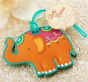 Lucky Elephant Luggage Tag Favors image