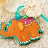 Lucky Elephant Luggage Tag Favors