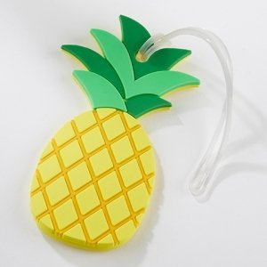 Pineapple Luggage Tag Favors image