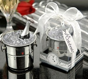 Whimsical Champagne Bucket Kitchen Timer image
