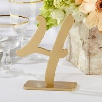 Good As Gold Classic Table Numbers