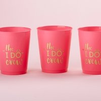I Do Crew Stadium Cups (Set of 12)