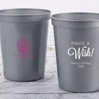 Personalized Birthday Stadium Cup Favors