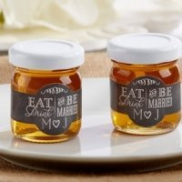 Personalized Eat Drink & Be Married Clover Honey (Set of 12)