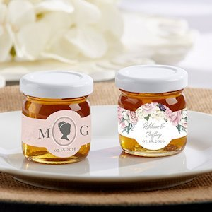 Personalized English Garden Clover Honey (Set of 12) image