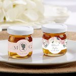 Personalized English Garden Clover Honey (Set of 12)