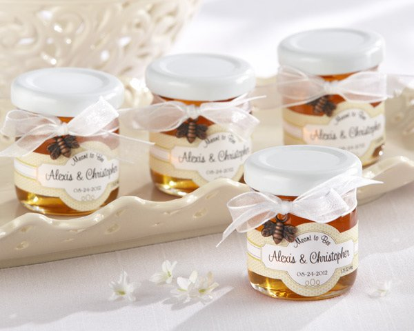 Personalized Meant To Bee Honey Wedding Favors Set Of 12