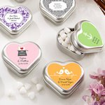 'Mint for You' Personalized Heart Shaped Mint Tins