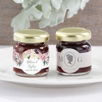 Personalized English Garden Strawberry Jam Favor (Set of 12)