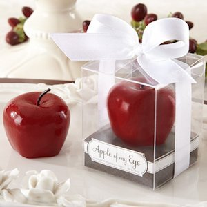 Apple of My Eye Mini-Candle Wedding Favor image