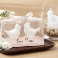 Love Birds Favors Tea Light Candles