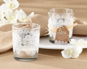 Lace Glass Tealight Holder (Set of 4) image
