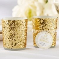 All That Glitters Gold Votive/Tealight Holder (Set of 4)