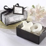 Hugs and Kisses from Mr and Mrs Soap Wedding Favors