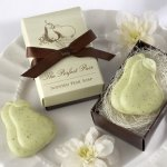 'The Perfect Pair' Pear-Scented Wedding Soap Favors