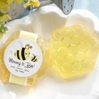 'Mommy To Bee' Honey-Scented Honeycomb Soap