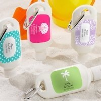 'Fun in the Sun' Personalized Mini Sunscreen Bottles