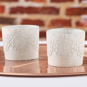 Concrete Lace Votive Holder (Set of 4) image