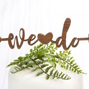We Do Cake Topper image