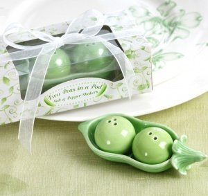 Two Peas in a Pod Salt & Pepper Shakers image