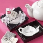 'Swee-Tea' Ceramic Tea Bag Caddy