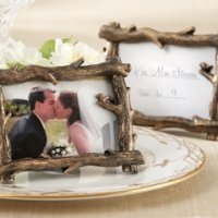 tree branch place cardphoto holder