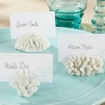 White Sea Coral Place Card Holders (Set of 6)