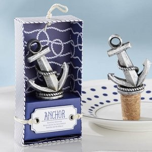 Nautical Anchor Bottle Stopper image