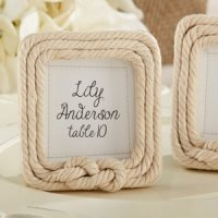 Tied with Love Rope Frame Favors