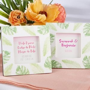 Pretty Palms Photo Frame Favors image