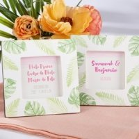 Pretty Palms Photo Frame Favors