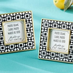 Tropical Chic Tile Patterned Frame Favors image