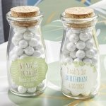 Personalized King of the Jungle Milk Jar Birthday Favors