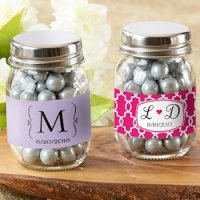 Personalized Glass Mason Jars (Set of 12)