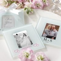 Personalized Frosted Glass Photo Coasters (Set of 12)