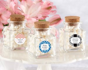 Petite Treat Personalized Favor Jars (Set of 12) image