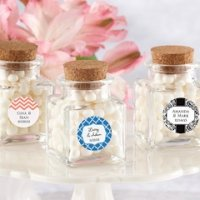 Petite Treat Personalized Favor Jars (Set of 12)